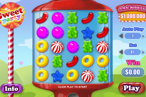 sweet party playtech slot