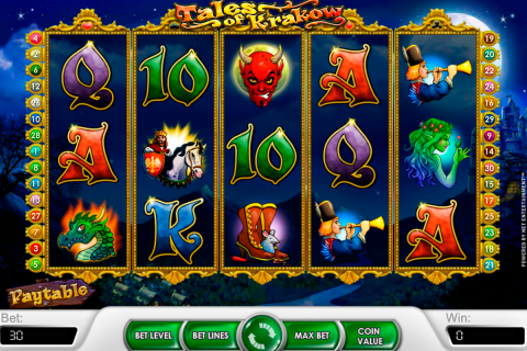 tales of krakow netent slot