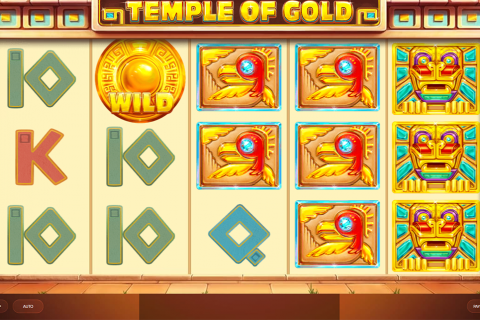temple of gold red tiger slot