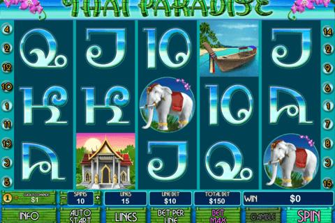 thai paradise playtech slot
