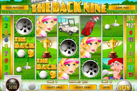 the back nine rival slot