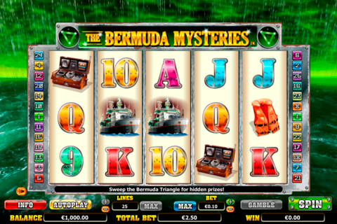 the bermuda mysteries netgen gaming slot
