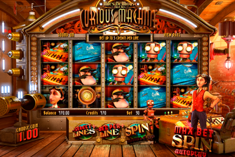 the curious machine betsoft slot