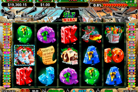 the elf wars rtg slot