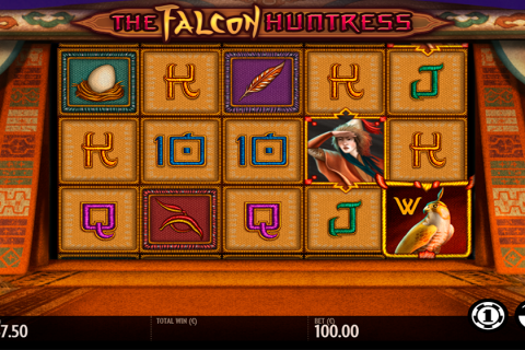 the falcon huntress thunderkick slot