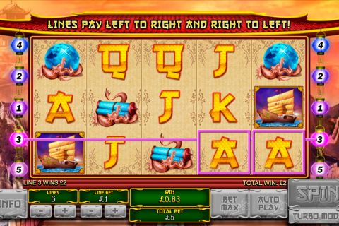 the great ming empire playtech slot
