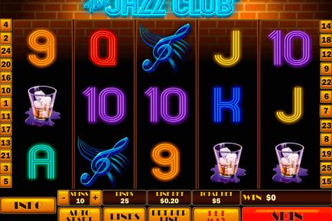 the jazz club playtech slot