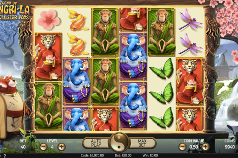 the legend of shangrila netent slot