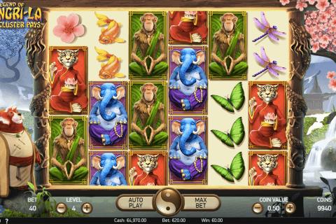 the legend of shangrila netent slot