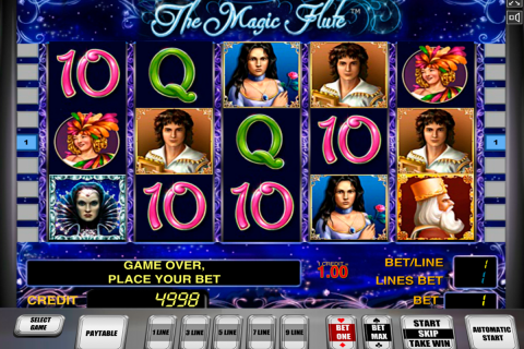 the magic flute novomatic slot