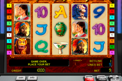 the ming dynasty novomatic slot