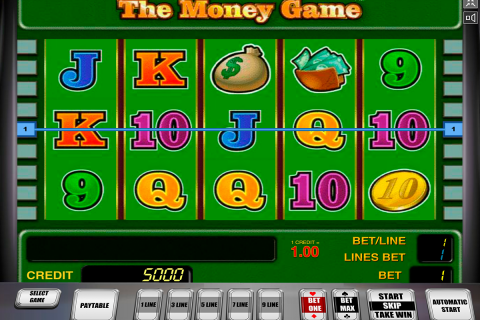 the money game novomatic slot
