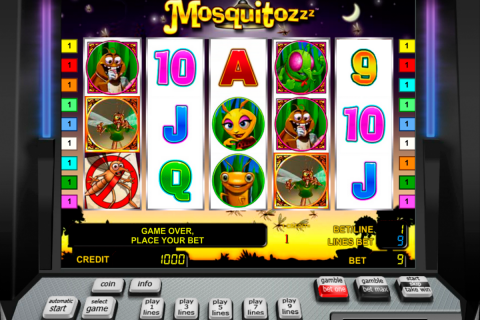 the mosquitozzz novomatic slot