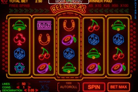 the reel deal skillonnet slot