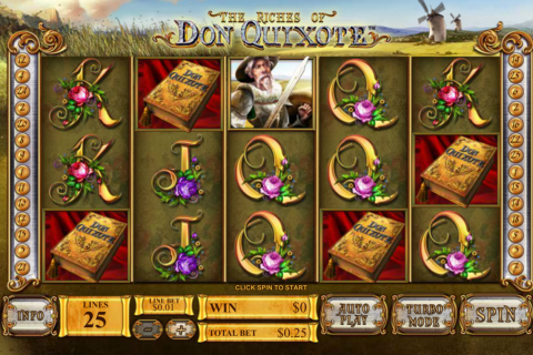 the riches of don quiote playtech slot