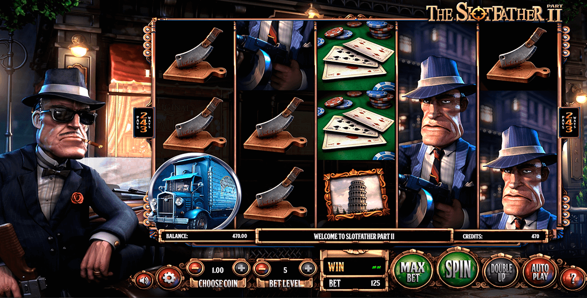 the slotfather ii betsoft slot