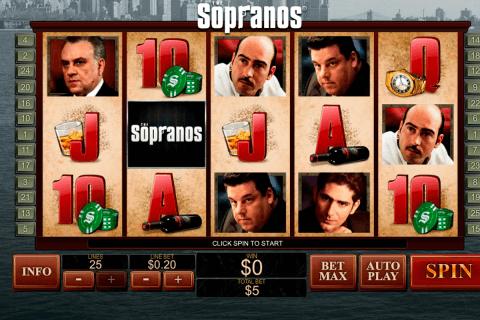 the sopranos playtech slot