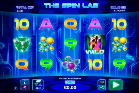 the spin lab netgen gaming slot