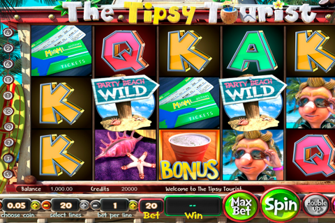 the tipsy tourist betsoft slot