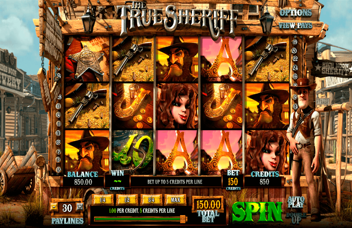 the true sheriff betsoft slot