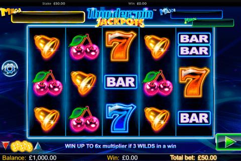thunderspin jackpots netgen gaming slot