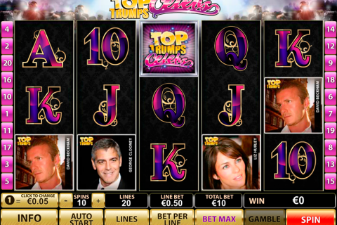 top trumps celebs playtech slot