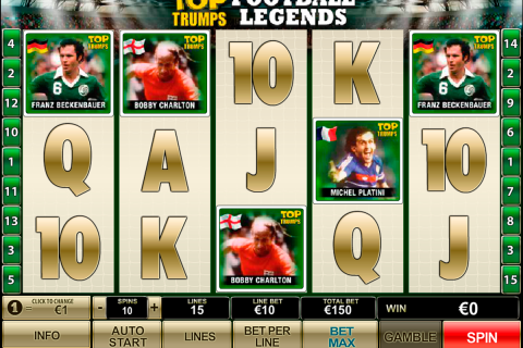 top trumps football legends playtech slot