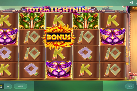 totem lightning red tiger slot