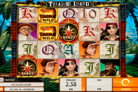 treasure island quickspin slot