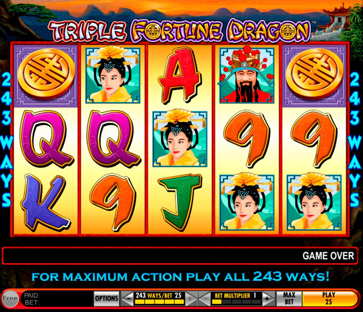 triple fortune dragon igt slot