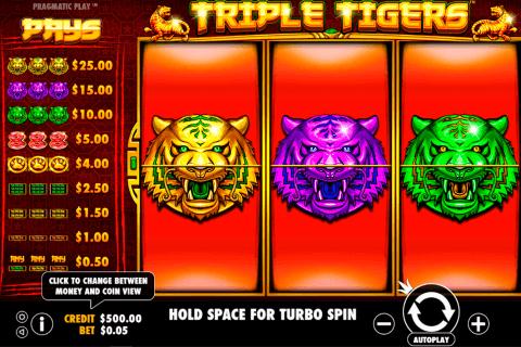 triple tigers pragmatic slot