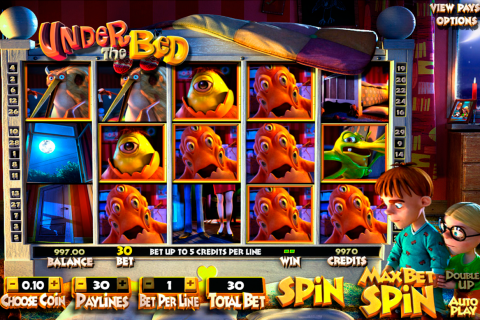 under the bed betsoft slot