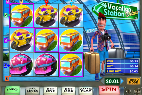 vacation station delue playtech slot