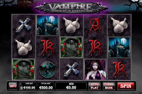 vampire princess of darkness playtech slot
