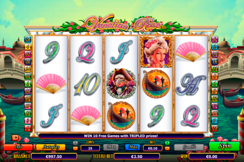 venetian rose netgen gaming slot