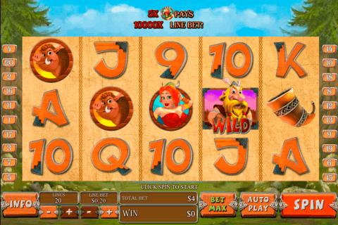 vikingmania playtech slot