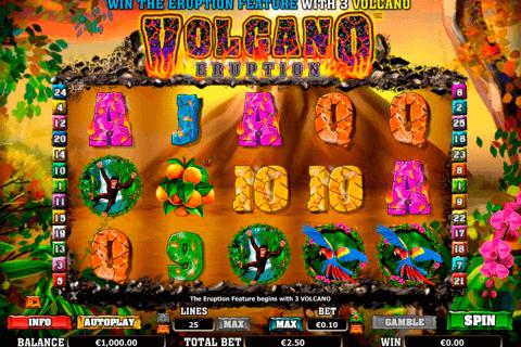 volcano eruption netgen gaming slot