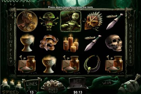 voodoo magic rtg slot