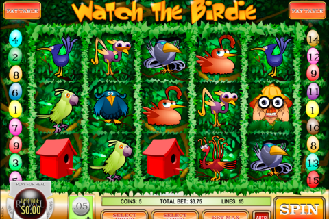 watch the birdie rival slot