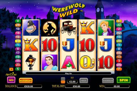 werewolf wild aristocrat slot