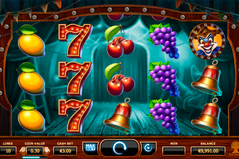 wicked circus yggdrasil slot