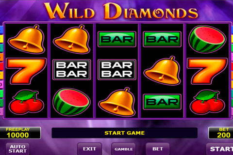 wild diamonds amatic slot