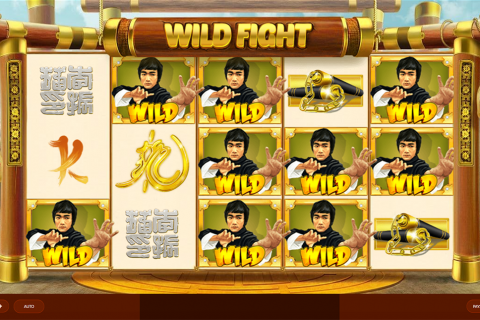 wild fight red tiger slot