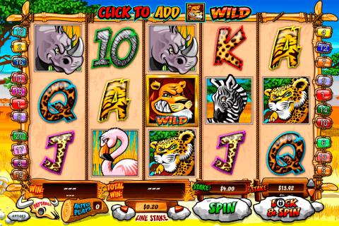 wild gambler playtech slot