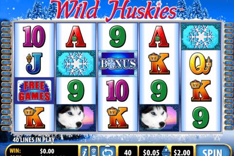 wild huskies bally slot
