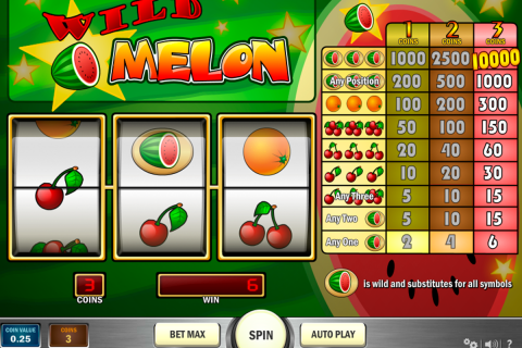 wild melon playn go slot