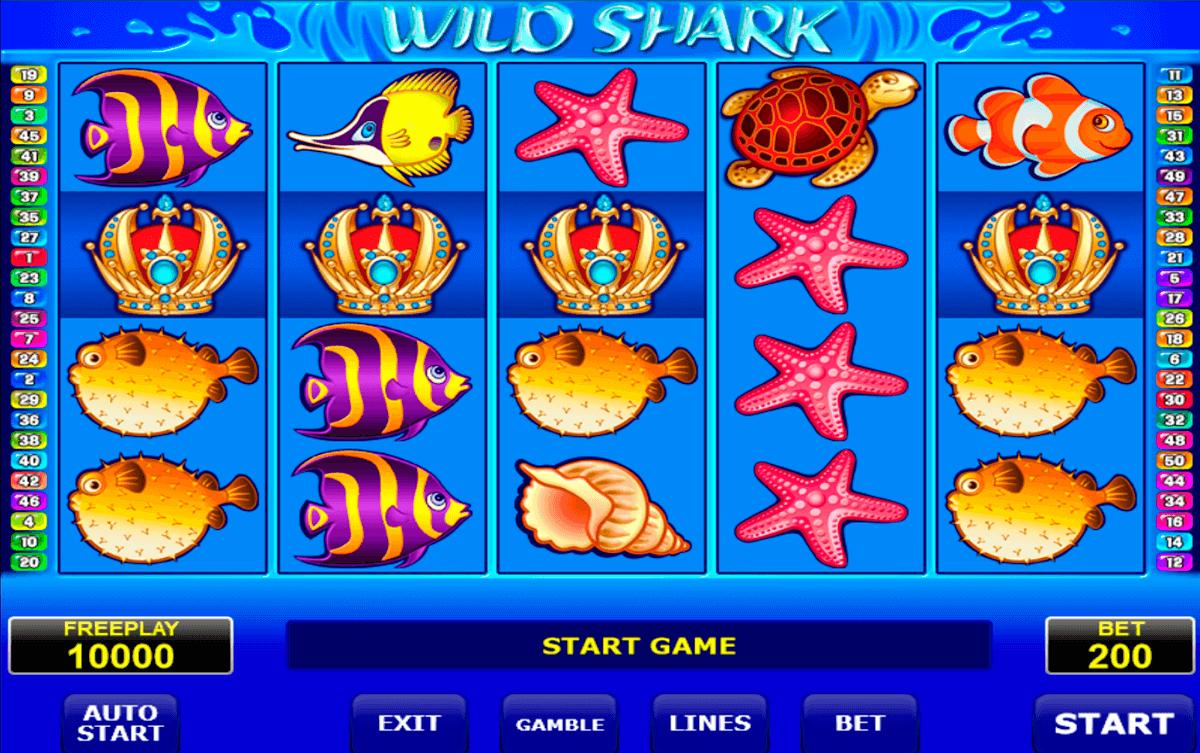 wild shark amatic slot