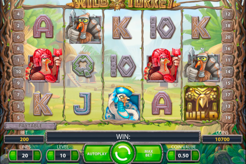 wild turkey netent slot