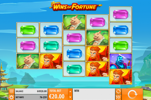 wins of fortune quickspin slot