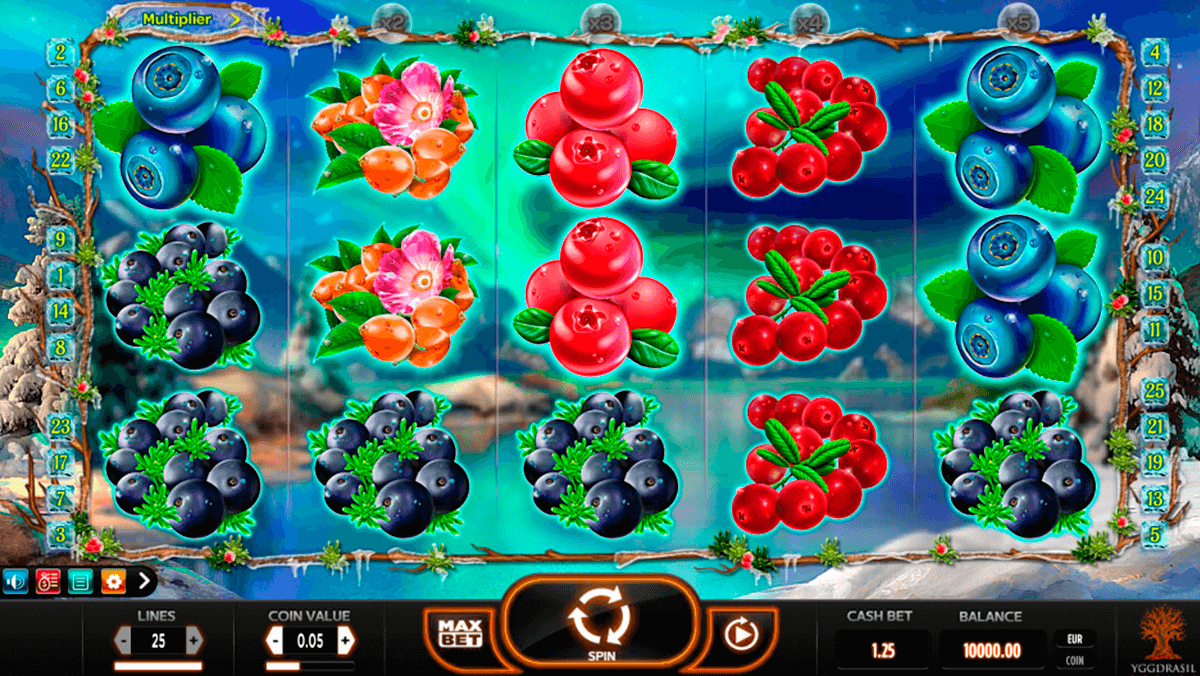 winterberries yggdrasil slot